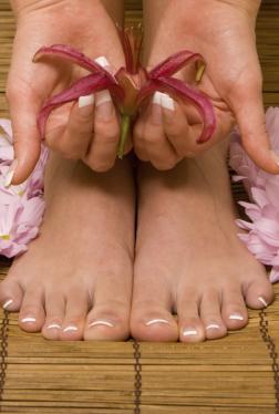 Barfuß-Fußpflege